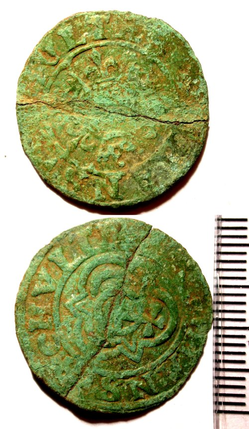 BUC-88EF34: Post-medieval Nuremberg jetton of Hans Schultes I