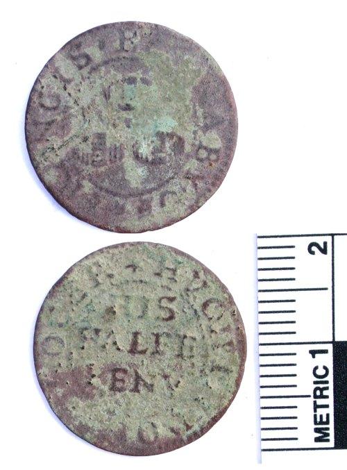 BUC-F8ED36: Post-medieval token