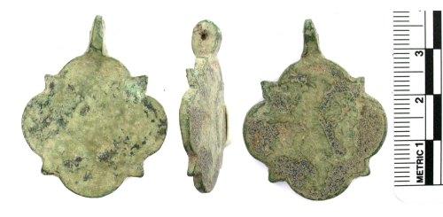 BUC-F950E3: Medieval harness pendant