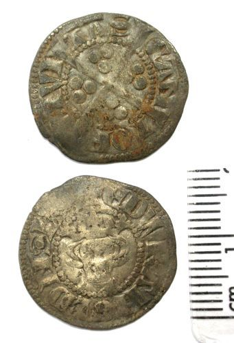 BUC-79DC93: Medieval Coin : Penny of Edward I