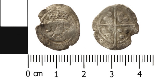 ASHM-7CC9C9: Medieval Coin: penny of Henry VI