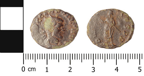 FAJN-5E2F17: Roman coin: radiate of Claudius II