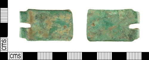 A resized image of Medieval buckle plate
