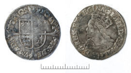 A resized image of Post-Medieval silver Tudor coins