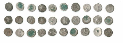 A resized image of LANCUM-E88322: roman coin hoard