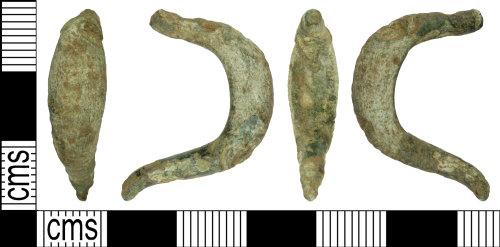 WILT-260BD7: Iron Age La Tene I type brooch