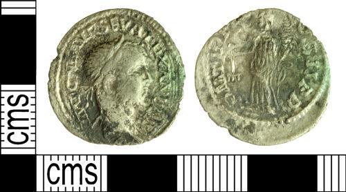DOR-959A21: Roman Coin: Contemporary Copy Denarius of Severus Alexander
