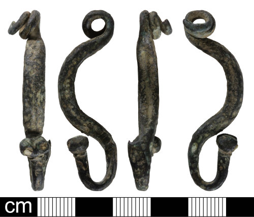 SOM-EF73E2: Iron Age La Tene I brooch