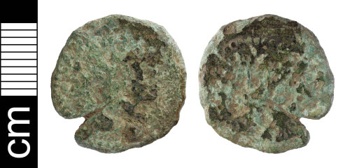 NMS-3F6C58: Roman coin: contemporary copy of a radiate of uncertain emperor