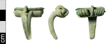 A resized image of Roman Colchester derivative brooch (incomplete)