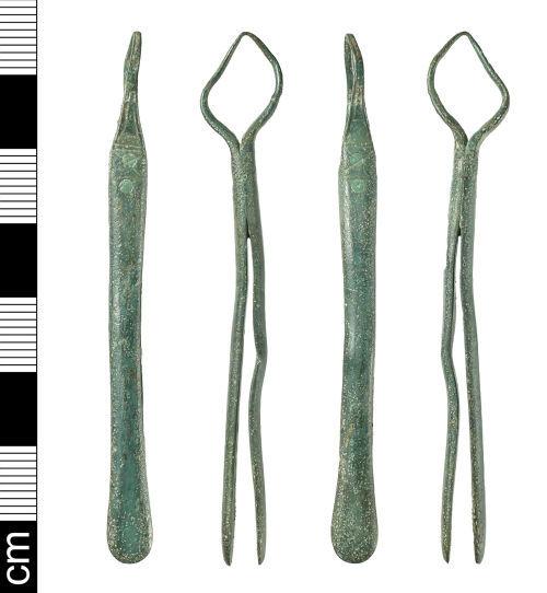 BH-CC67B7: Early-Medieval tweezers