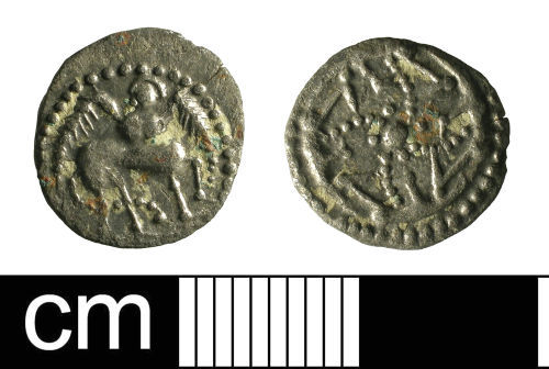 BH-299A82: Early-Medieval coin: Series S Sceat