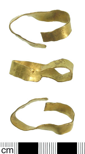 BH-DE3D16: Undated gold band