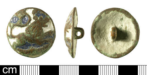BH-DEE512: Post-Medieval button