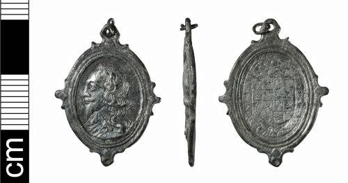 BH-620E40: Post-Medieval medal of Charles I