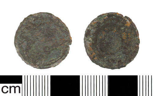 BH-EDC543: Roman coin: AE 3 of The House of Constantine