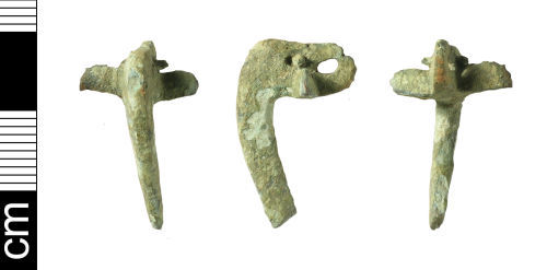 BH-A0AC11: Roman Colchester derivative brooch (incomplete)