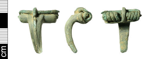 BH-255AD3: Roman Colchester derivative brooch (incomplete)