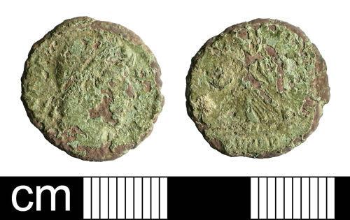 BH-A79217: Roman coin: nummus of Valens