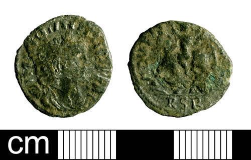 BH-6B4067: Roman coin: denarius of Carausius