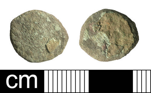 BH-BB4BC2: Roman coin: radiate or nummus (probably)