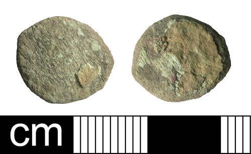 BH-BB4BC2: Roman coin: radiate or nummus (probably)