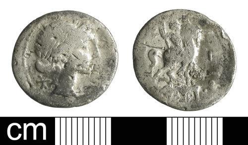 BH-6C5762: Roman coin: Republican denarius of Mn. Aemilius Lepidus