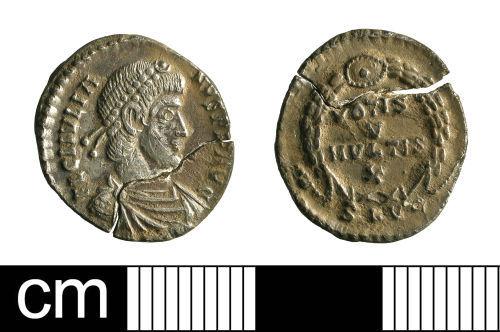 BH-AC6121: Roman coin: siliqua of Julian