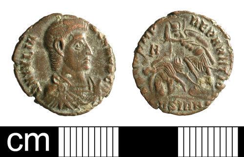 BH-AC7F20: Roman coin: nummus of Julian II as Caesar
