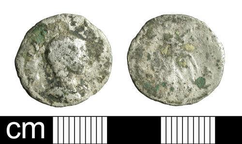 BH-F47112: Roman coin: denarius of Julia Paula