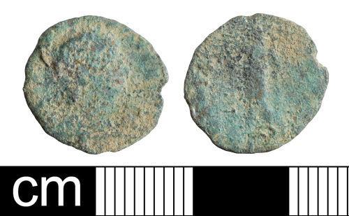 BH-07C0AA: Roman coin: nummus