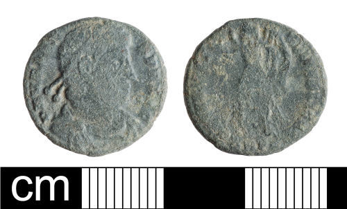 BH-FD6E7D: Roman coin: nummus of Valens