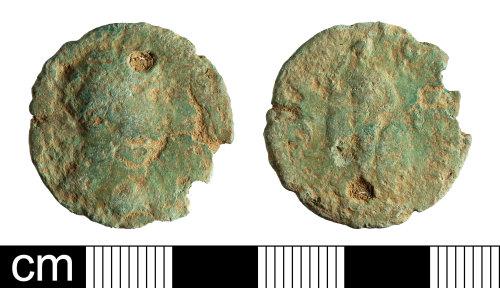 BH-31A00C: Roman coin: As of Hadrian