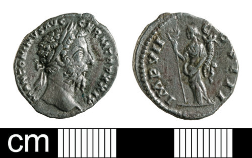 BH-371755: Roman coin: denarius of Marcus Aurelius