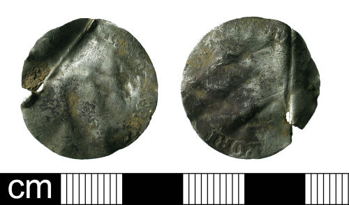 BH-F947B7: Post-Medieval coin: groat of Mary