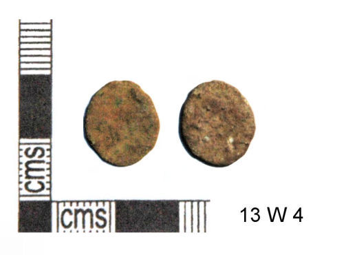 GLO-F47BA1: GLO-F47BA1 Roman coin