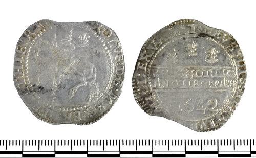 GLO-CFE316: 1 GLO-CFE316 coin of Charles I