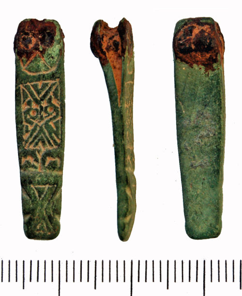 GLO-FA1844: Early Medieval Strap end