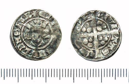 GLO-254894: Silver penny of Edward II