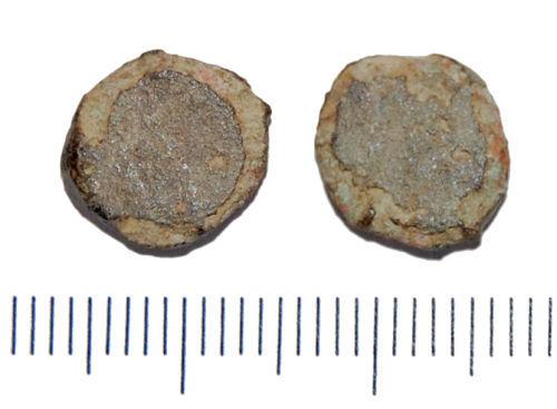 GLO-D70942: GLO-D70942 Roman coin: nummus barbarous copy