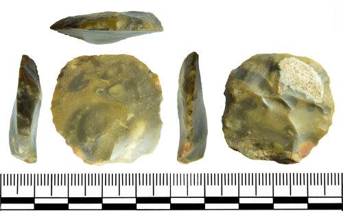 GLO-63F7A7: GLO-63F7A7 Neolithic Scraper