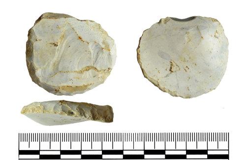 GLO-00B4D9: GLO-00B4D9 Neolithic scraper