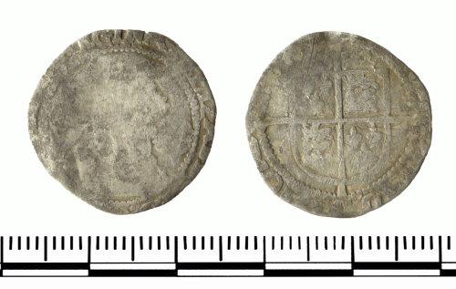GLO-37F0AF: GLO-37F0AF Coin od Elizebeth I
