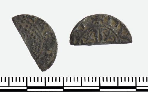 GLO-480661: GLO-480661 Cut Half Penny of William I of Scotland