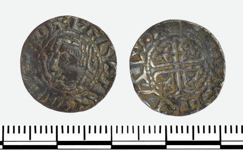 GLO-49754E: GLO-49754E Penny of William I of Scotland