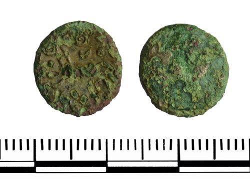 GLO-5E1A09: GLO-5E1A09 Iron Age coin