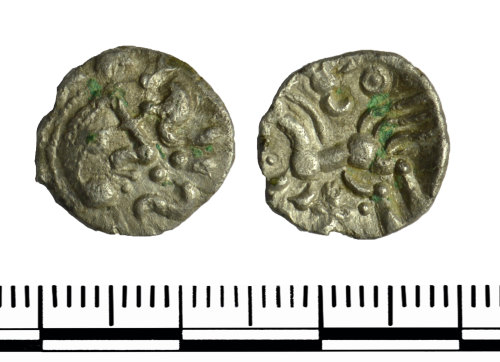 GLO-5E471D: GLO-5E471D Iron Age Coin