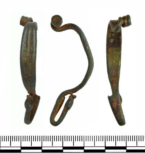 GLO-6EFDAC: GLO-6EFDAC Iron Age La Tene Brooch