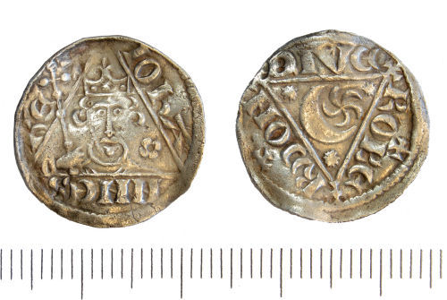GLO-730921: GLO-730921Medieval Irish Penny of John