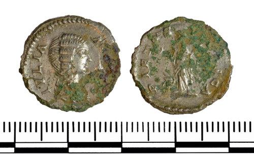 GLO-BA39EC: GLO-BA39EC Contemporary copy of a Denarius of Julia Domna